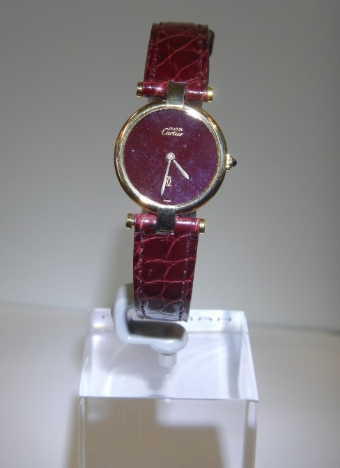 Vintage Watches For Sale Cartier Ladies Quartz Watch