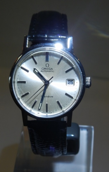Vintage Watches For Sale Omega Gents Geneve Auto Wind Watch - SOLD