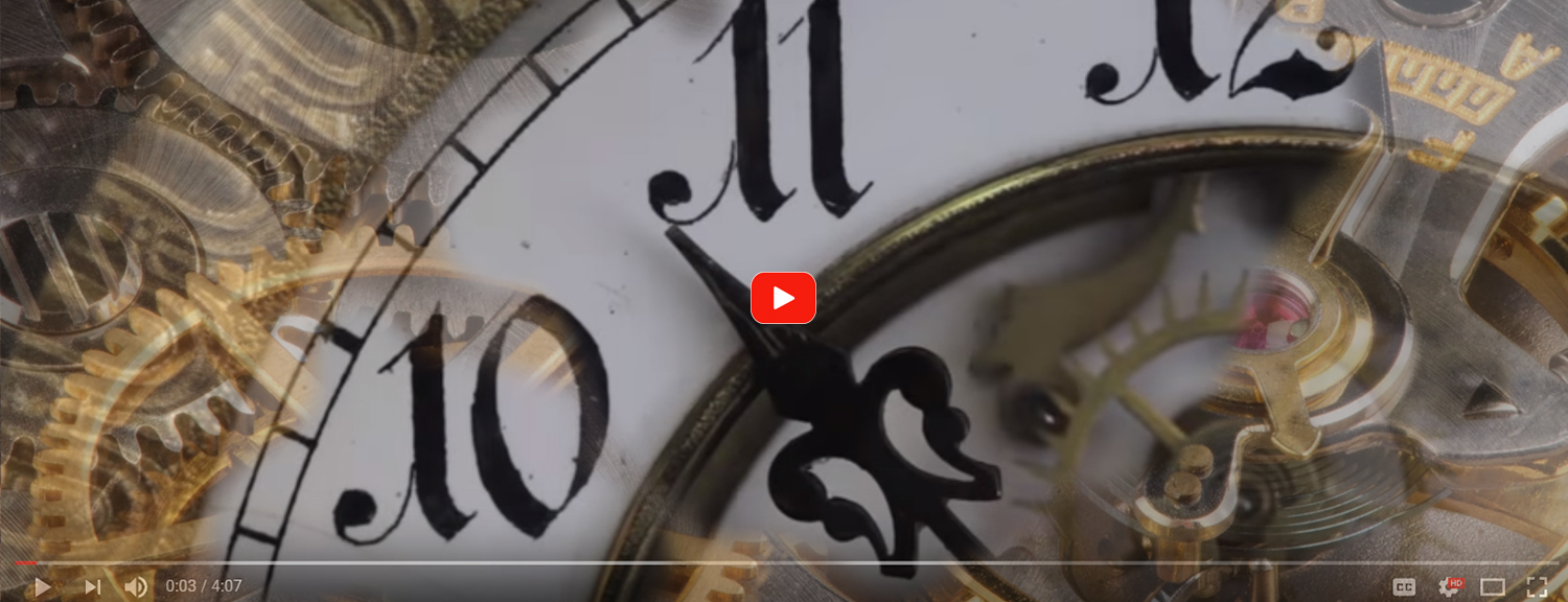 John Bouwman Clockmaker Video